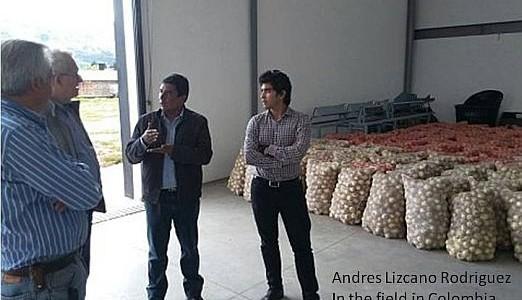 Congratulations to 2011 Lohez Scholar Andres Lizcano Rodriguez!