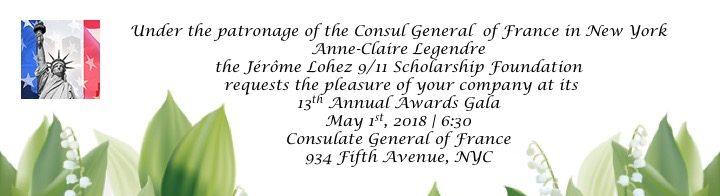 Jérôme Lohez 9/11 Scholarship Foundation