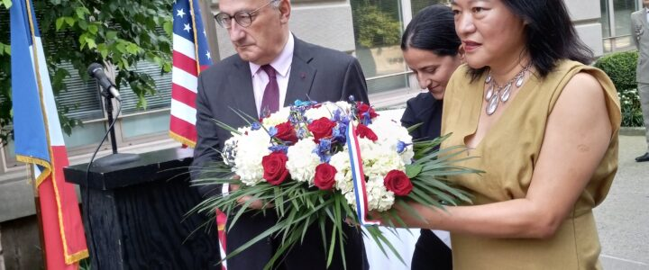 French Consulate holds 9/11 Commemoration Service